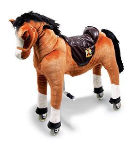 Cavallo A Dondolo Con Ruote.Da 5 Anni In Su Cavallo Sulle Ruote Fulmine